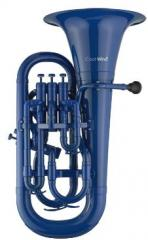 Euphonium Blau mit Softbag Coolwind