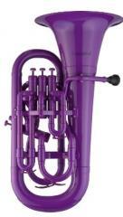 Euphonium Violett mit Softbag Coolwind
