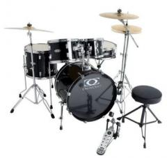 Progressive Drumset-Bundle Jack-Black Gewa