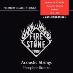 Saiten für Acoustic Gitarre Set Phosphor Bronze Medium FireAndStone