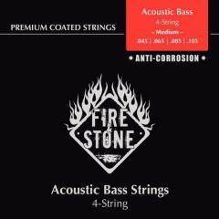 Saiten für Acoustic Bass Copper Wound FireAndStone