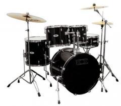 DC1 Schlagzeug-Set schwarz Gewa