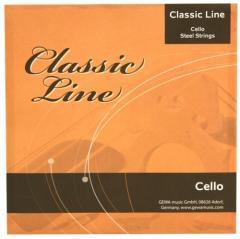 Classic-Line Cello-Saiten 1/2-Celli Gewa