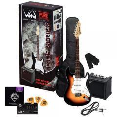 RC-100 E-Gitarren-Set Sunburst VGS