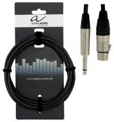 Mikrofonkabel XLR-Klinke 6m Gewa