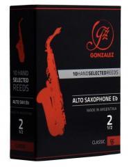 2,5er Classic Alt-Saxophon Gonzalez