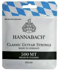 500MT Saiten Konzertgitarre Hannabach
