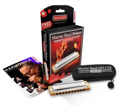 Marine-Band Deluxe F-Dur Hohner