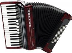 Akkordeon Amica-III-72 rot Hohner