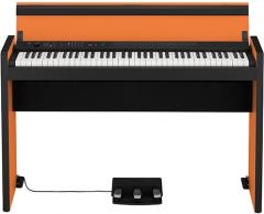 LP-380 Digital-Piano Orange-Black Korg