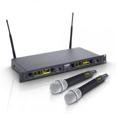 WIN42HHC2-Funksystem 2 Kondensator-Handmikrofone LD Systems