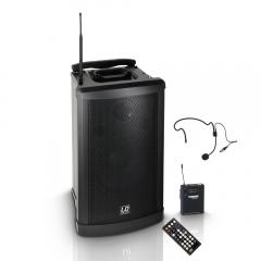 Roadman-102 Batterielautsprecher mit Headset LD Systems