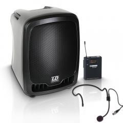 Roadboy-65 Batterielautsprecher mit Headset LD Systems