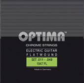 4028EL Chromsaiten E-Gitarre Optima