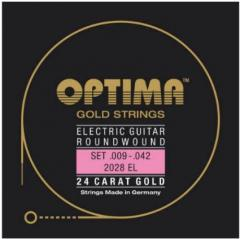 2028RL Goldsaiten E-Gitarre Optima