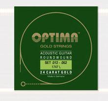 1747EL Goldsaiten Akustikgitarre  Optima