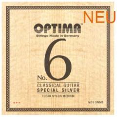 NO6SNMT Silbersaiten Konzertgitarre Optima