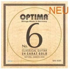 NO6GNHT Goldsaiten Konzertgitarre Optima