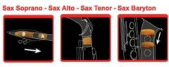 Dämpfer Alt-Saxophon Saxmute
