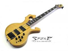 S-1-FL Flame-Top E-Bass Spear