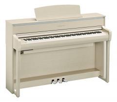 Clavinova CLP675WA Digitalpiano Weissesche Yamaha