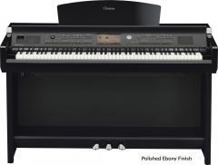 CVP-705PE Arranger-Piano Schwarzpoliert Yamaha
