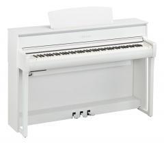 Clavinova CLP675WH Digitalpiano Weiss Yamaha
