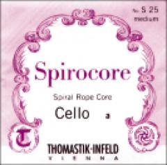 Saiten für Cello Spirocore Spiralkern Weich Thomastik