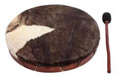 Shamanentrommel Kuhfell Durchmesser 45cm Gewa