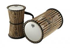 African Collection Francis Awe Talking Drum Remo