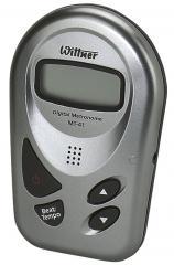 Scheckkartenmetronom MT-41 Silber Wittner