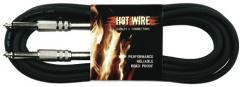 Instrumentenkabel Klinke-Klinke 3m Hot Wire