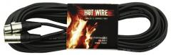 Mikrofonkabel XLR-XLR 10m Hot Wire