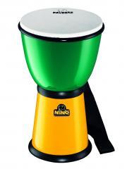 Djembe 8 Zoll Grün/gelb Nino