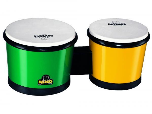 Bongo Kunststoff Grün und Gelb