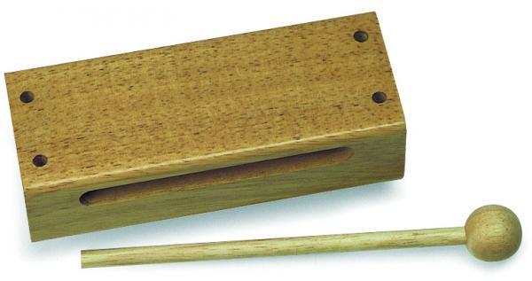 Nino21 Holzblock mit Schlägel