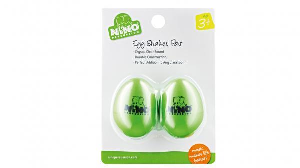 2 Egg-Shaker Grün