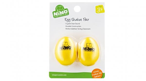 2 Egg-Shaker Gelb