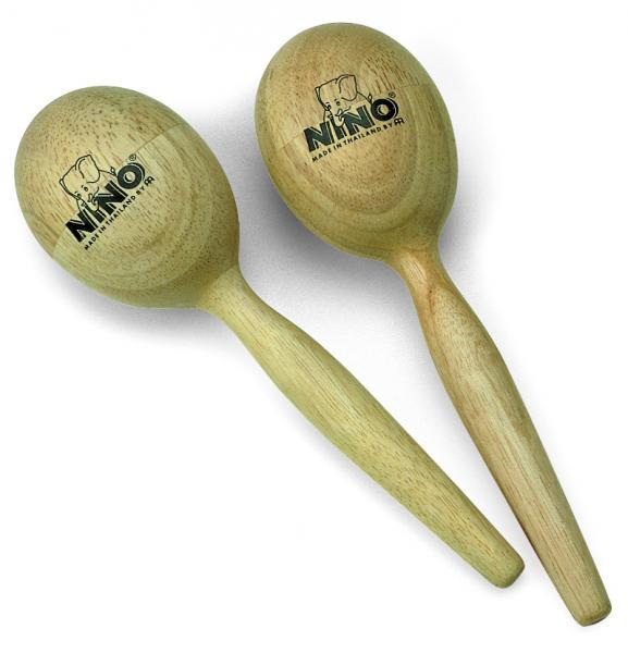 Egg-Maracas Holz Mittel NINO566