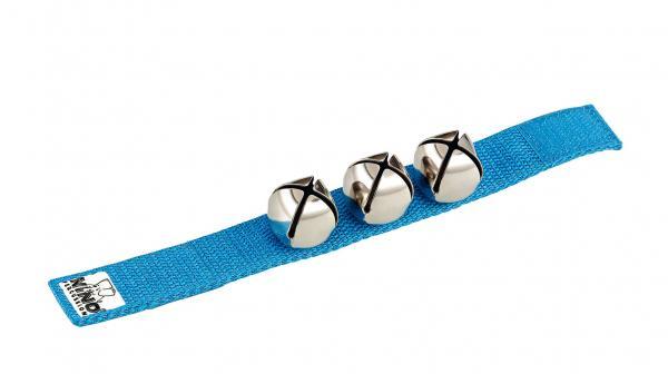 Schellenband Blau