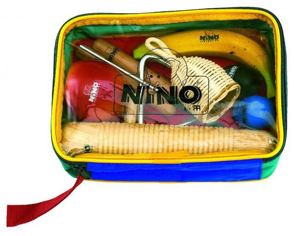 Percussion-Set 8 Instrumente mit Tasche