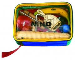 Percussion-Set 8 Instrumente mit Tasche Nino