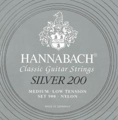 Klassikgitarrensaiten Serie 900 Medium Hannabach